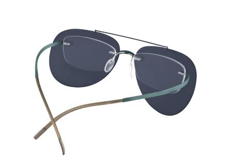 4ce541b1930d Design ZONNECLIPS voor de Silhouette randloze brillen