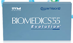 Biomedics 55 evolution 6-pack contactlenzen