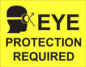 bescherming bril ogen bijtende stoffen